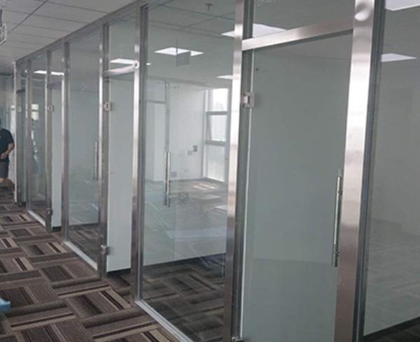 呼市不锈钢玻璃隔断
